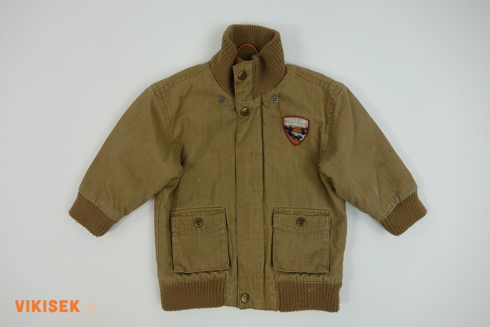 Hnědá podzimní bunda Timberland  40a70611b2